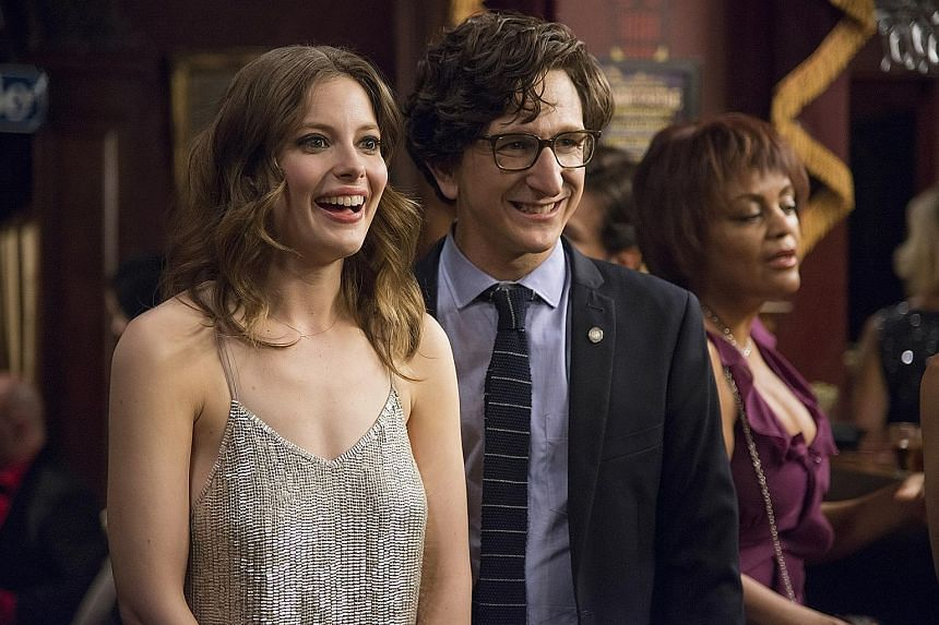 Gillian Jacobs and Paul Rust (both above) play a dysfunctional couple in Netflix series Love.