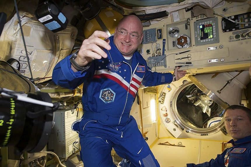 Could you spend a year in space orbiting the earth? Nasa astronaut Scott Kelly did. He returns today after nearly a year aboard the International Space Station. He says the secret to enduring the longest US space flight is marking individual mileston