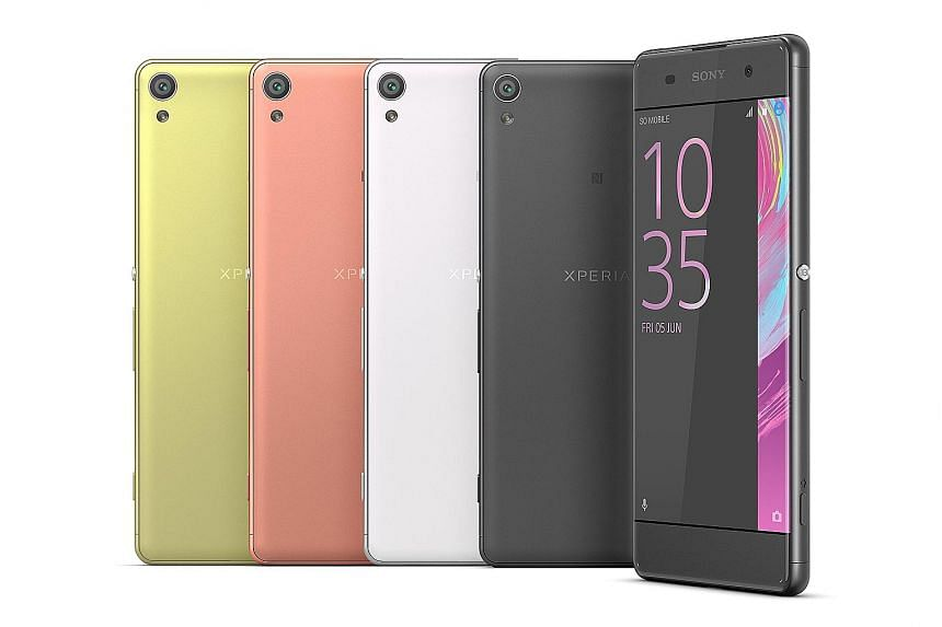 The Xperia X, XA and X Performance continue the Xperia tradition of bold colours and a blocky form factor. But Sony's most interesting products were its upcoming Ear - which will be launched in summer - and a trio of concept products: the Eye, Projec