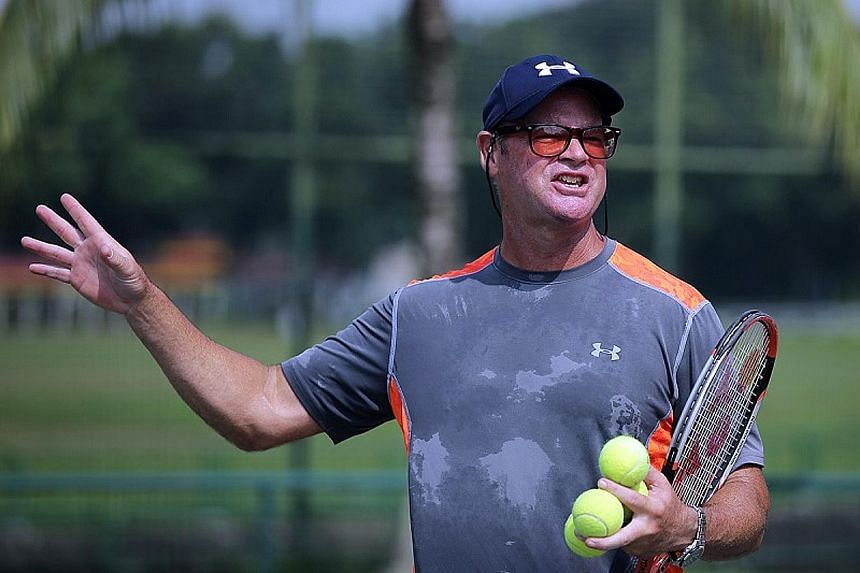 Robert Davis is currently in town running a 10-day camp. The American has more than two decades of coaching experience.
