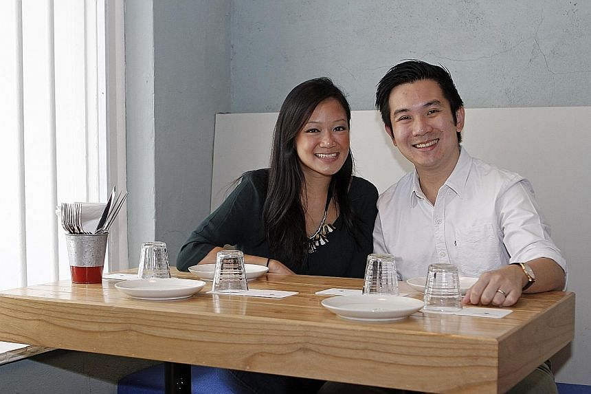 Mr Indra Kantono and his wife Gan Guoyi own cocktail bars Jigger & Pony and Sugarhall, and three other F&B establishments. Among the HR practices they have put in place are mentorship and continuing education programmes, as well as helping staff stri