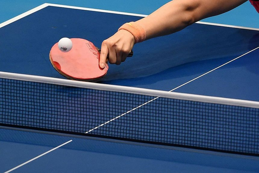 German Timo Boll had told German newspaper Frankfurter Allgemeine that 80 per cent of players treat the rubber on their bats with chemicals to give their shots a catapult effect.