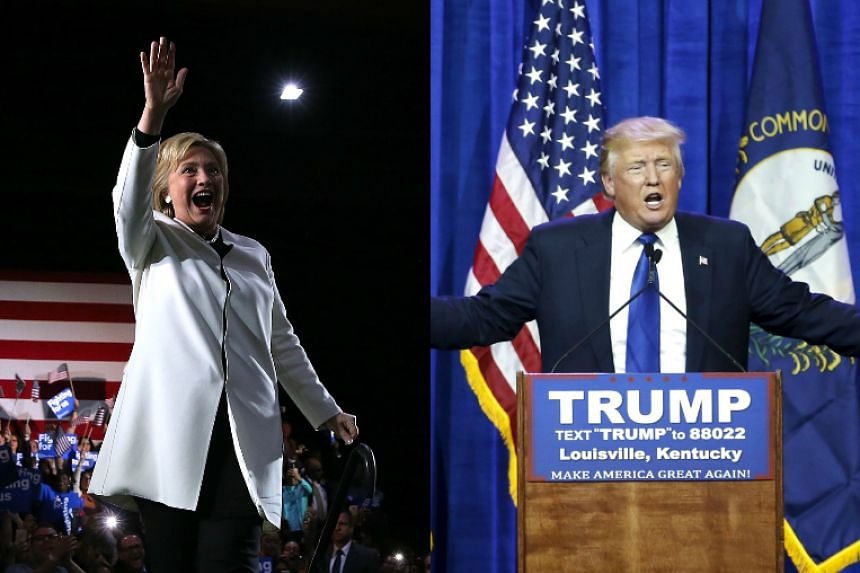 Democrat Hillary Clinton (left) and Republican Donald Trump scored their first wins in the pivotal Super Tuesday contests.