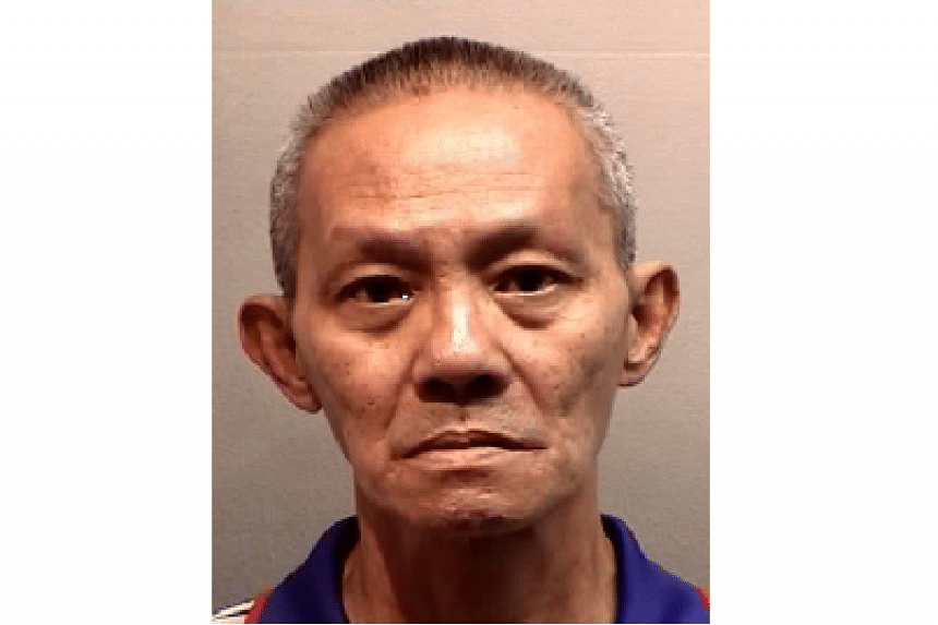Dishwasher Lim Yeow Heng, 62, was jailed for 30 months after pleading guilty to a single charge of causing hurt by a corrosive substance.