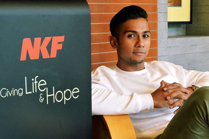 Simptom, a docu-drama which aims to raise awareness of kidney problems in the Malay community, will be hosted by Taufik Batisah (above).