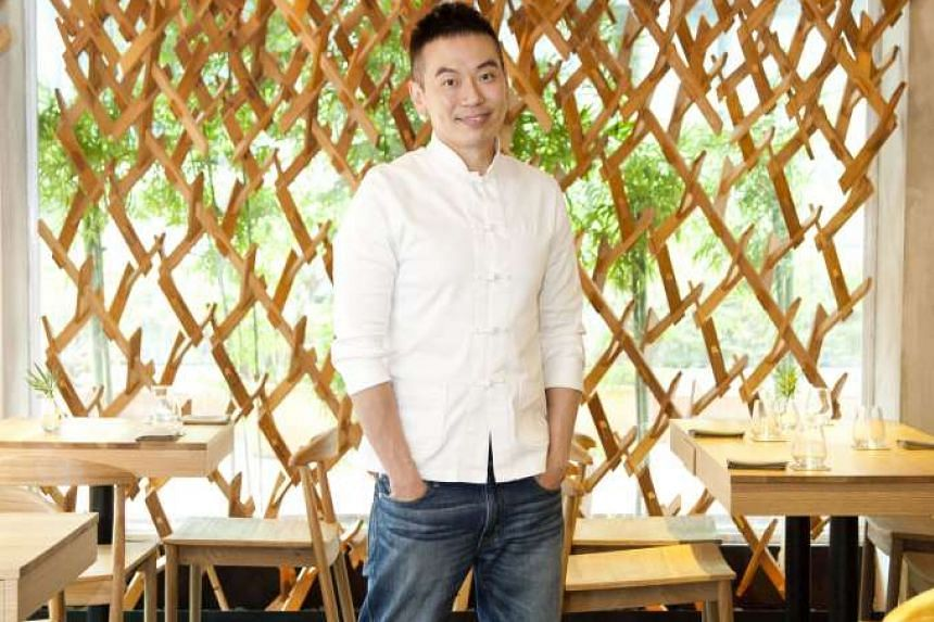 Chef-owner of Wild Rocket, Willin Low (above) and chef and co-owner of Corner House, Jason Tan.