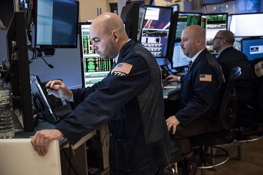 Traders working on the floor of the New York Stock Exchange on March 1, 2016.