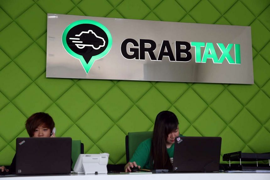 GrabTaxi's office at Midview City.