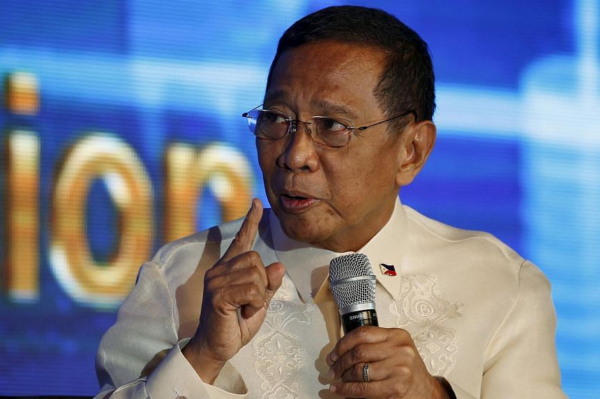 Philippine presidential candidate Jejomar Binay was quoted as saying he would pursue a claim over Sabah.