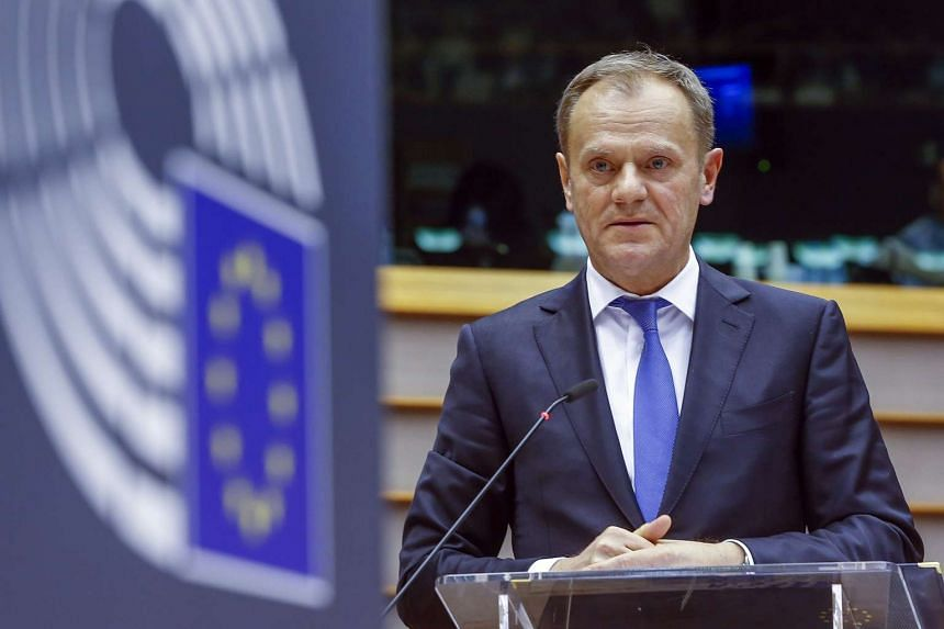 EU President Donald Tusk has warned economic migrants not to come to Europe.