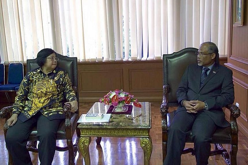 Mr Masagos told Dr Siti that official information was necessary in order for Singapore to take errant firms to task.
