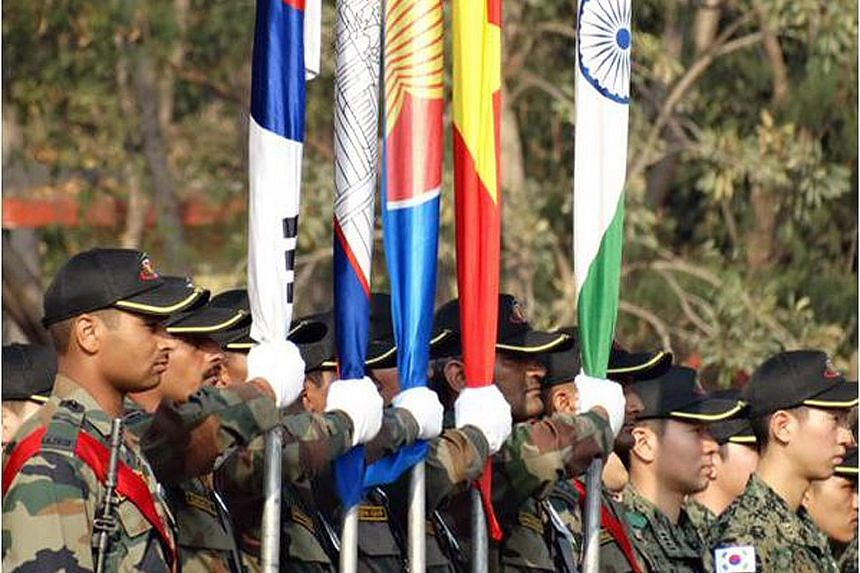 The largest multinational military exercise on Indian soil began in Maharashtra yesterday. It involves the 10-nation Asean grouping and eight of its dialogue partners, namely India, Australia, China, Japan, New Zealand, Russia, South Korea and the Un