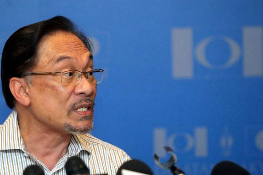 Malaysia's opposition leader Datuk Seri Anwar Ibrahim has declared support for Dr Mahathir Mohamad against Prime Minister Najib Razak.