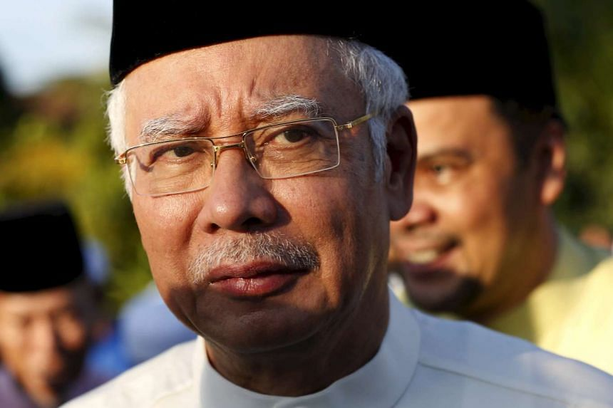 Malaysia is in political crisis, amid corruption allegations against PM Najib Razak (above).