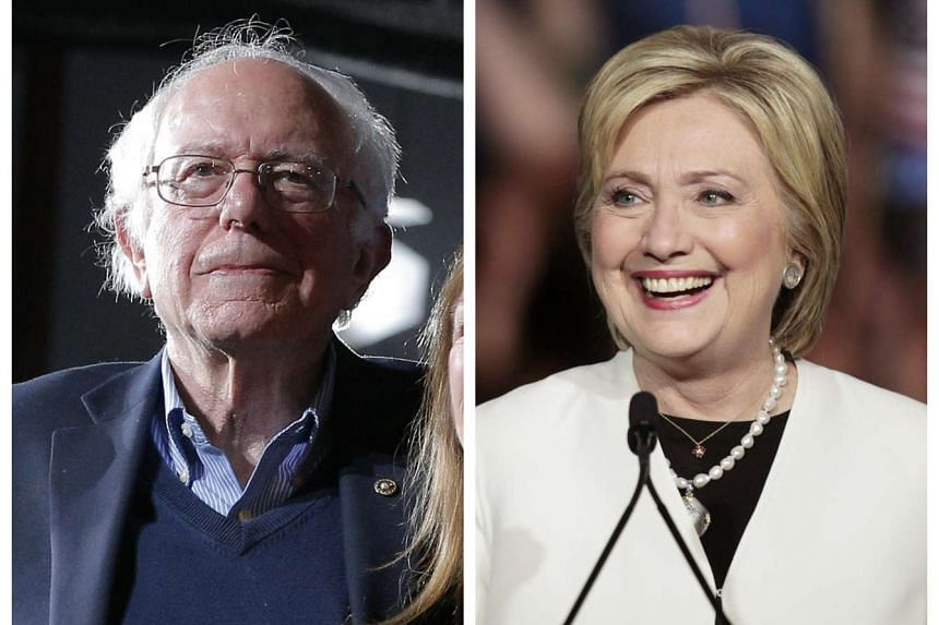 Democratic presidential candidate Hillary Clinton triumphed over rival Bernie Sanders on Super Tuesday, but Mr Sanders put up a decent fight with four wins.