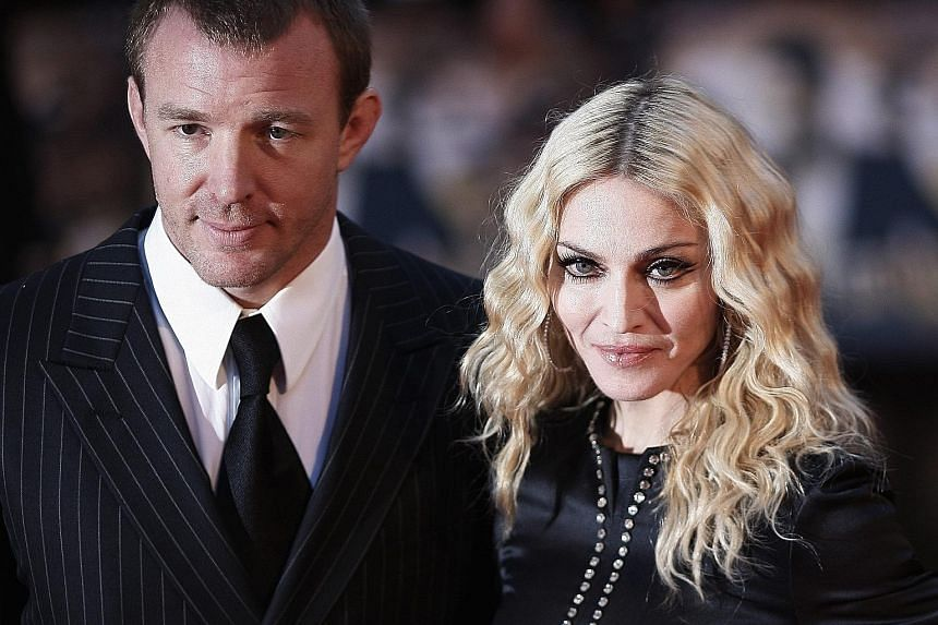 Madonna and Guy Ritchie in a 2008 photo. The couple, who divorced that year, had agreed that their son Rocco, now 15, would live with his mother.