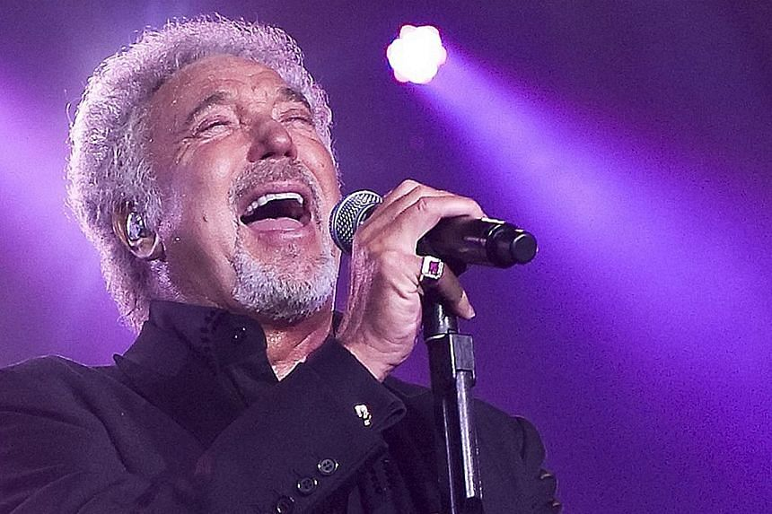 Tom Jones cancelled his shows in Singapore in 2010 because of laryngitis. He then performed at the Singapore Grand Prix in 2013.