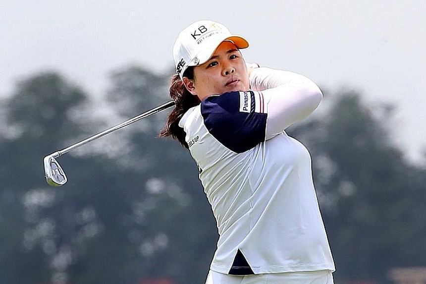 Park In Bee suffered the disappointment of seeing her incredible bogey-free streak come to an end after 115 holes, but the South Korean opened her HSBC Women's Champions title defence with a solid first round to sit just one shot off the lead.