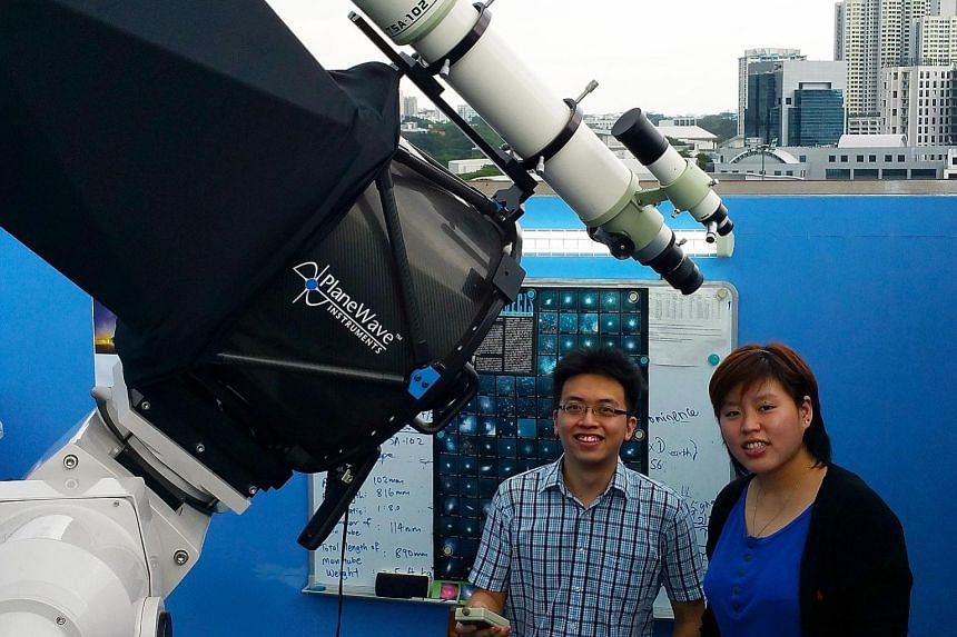 Mr Yuen and Ms Laurentcia intend to film a solar eclipse that can be observed from various parts of the region on Wednesday morning, but especially well in Central Sulawesi.