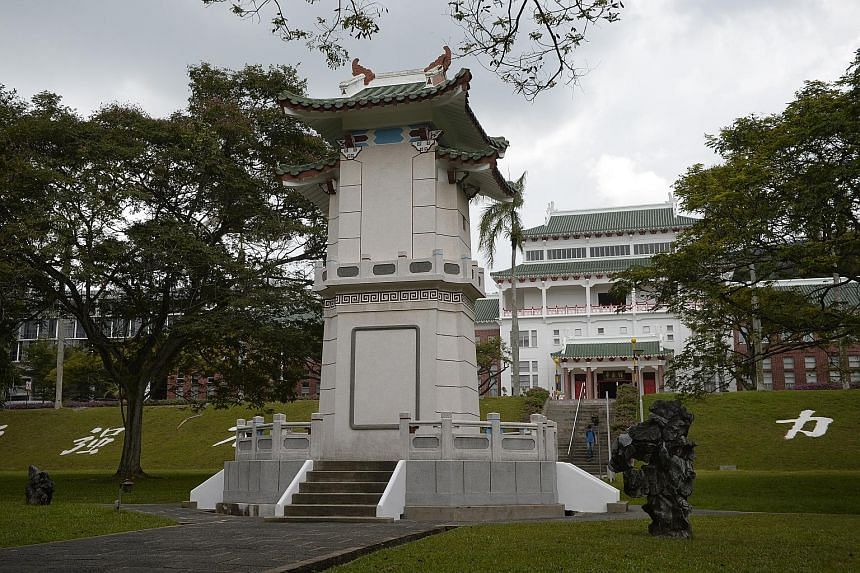 The space in front of the Chinese Heritage Centre will be turned into an area where large-scale events and gatherings can be held, said NTU officials. The plan seeks to showcase the historical significance of Yunnan Garden, the birthplace of Nanyang