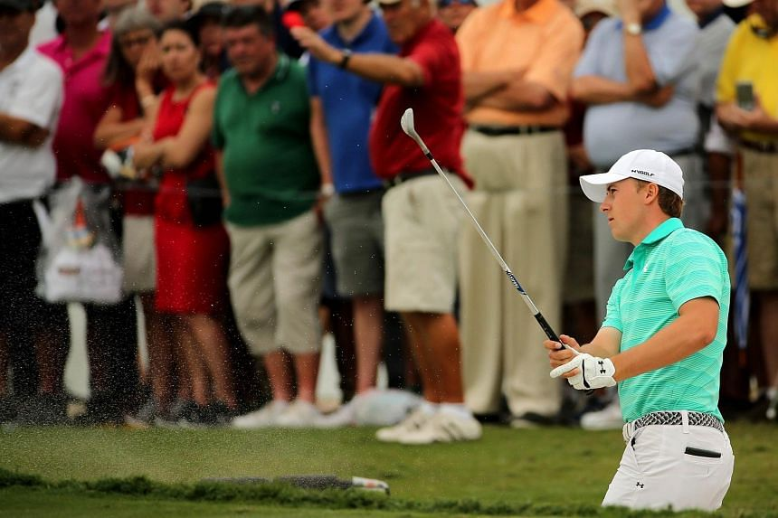 Jordan Spieth at the Cadillac Championship in Doral, Florida, on March 3.