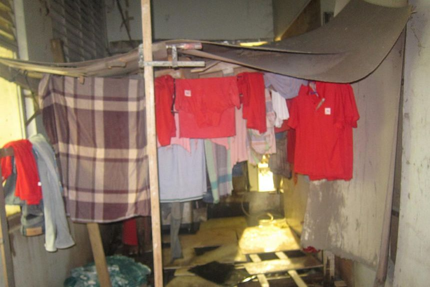 Workers had to live in premises which were not approved to be used as a foreign worker dormitory.