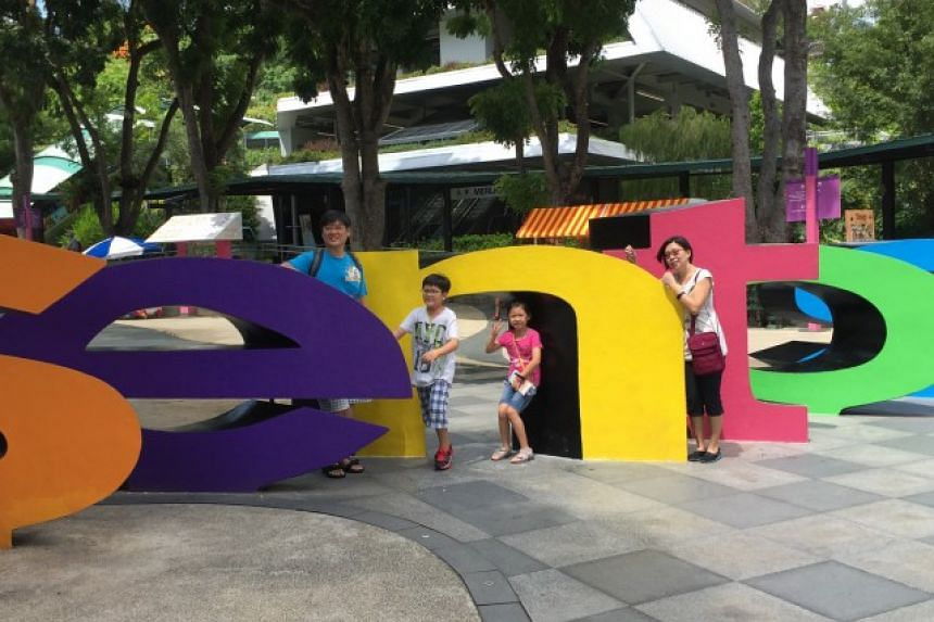 For Matthew Kwan, 9, and his sister Jeslyn, 8, the highlight of their latest trip to Sentosa as visiting the island's Butterfly Park and Insect Kingdom for the first time.