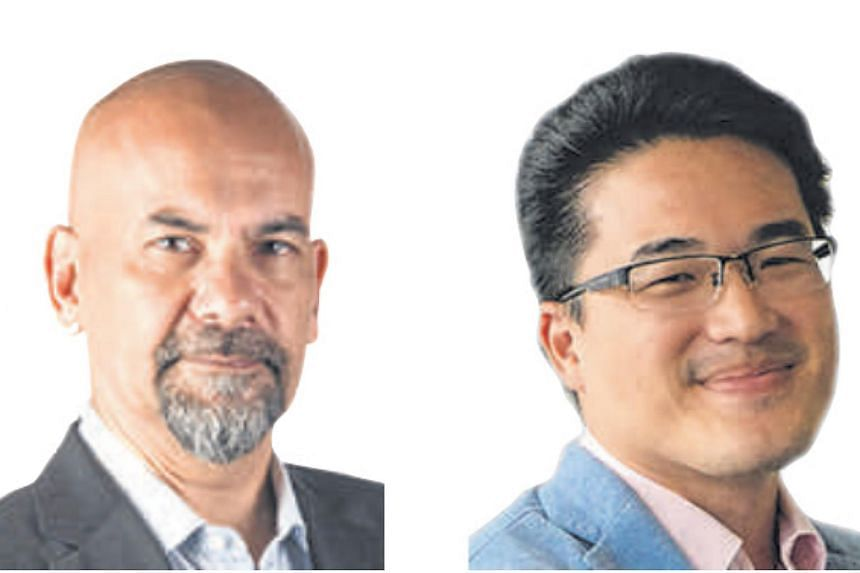 Senior correspondent Nirmal Ghosh (above, left) and Malaysia bureau chief Shannon Teoh (above, right).