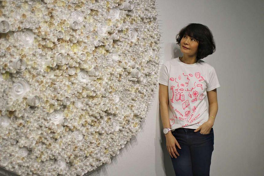 Singapore artist Jane Lee