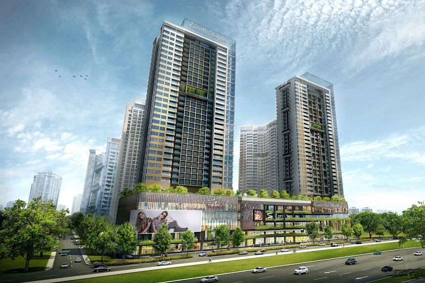 Keppel Land received strong take-up for its latest condo development in Ho Chi Minh City, Estella Heights (above), while CapitaLand's Vista Verde is among the developer's best-selling projects in Vietnam.
