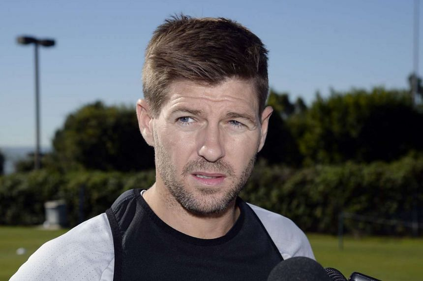 Steven Gerrard has set his sights on winning his first trophy with the Los Angeles Galaxy.