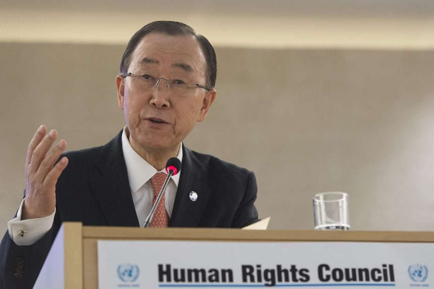UN Secretary General Ban Ki Moon warns that Libya's future is at threatened by the threat of ISIS.