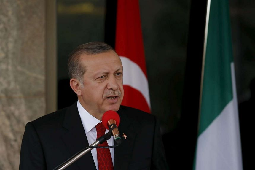 Turkish President Recep Tayyip Erdogan has suggested building a new city in Syria to house refugees.