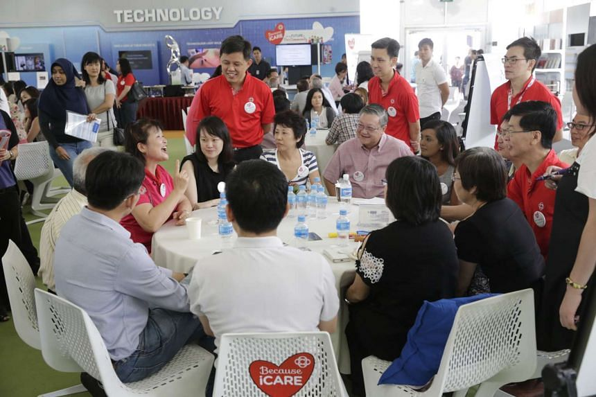 Minister in the Prime Minister's Office Chan Chun Sing at an SGfuture engagement session on Saturday.
