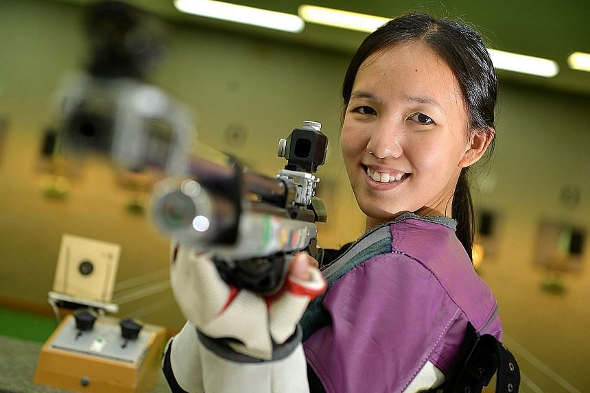 Try as she might, a World Cup medal eluded Jasmine Ser for years. But the Singapore shooter finally broke her duck with a bronze medal in the women's 10m air rifle in Bangkok on Thursday. The achievement has given the Rio-bound athlete a shot of conf
