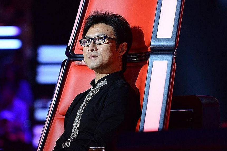 The Voice Of China judge Wang Feng