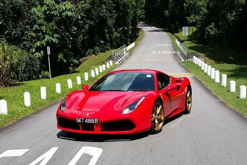 The new Ferrari 488 GTB is prettier and quicker than the model it replaces.
