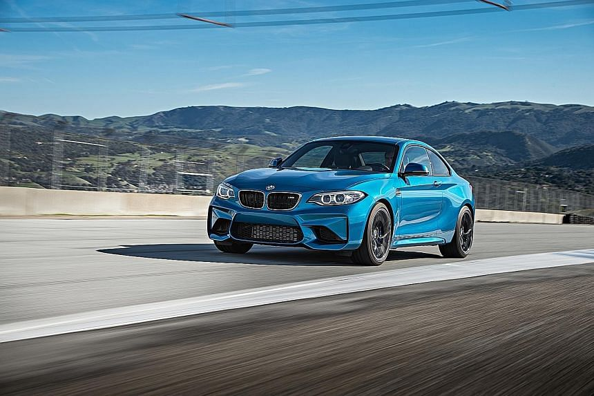 The BMW M2 may be the entry-level M model, but it is titillating to drive.