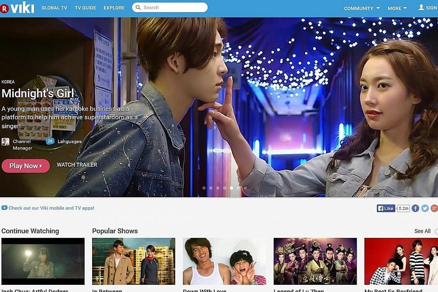 """Video site Viki (above) was bought by Japanese e-commerce site Rakuten for US$200 million (S$276 million) in 2012. The report pointed out that the """"most notable"""" exits for Singapore tech companies have all been acquisitions."""