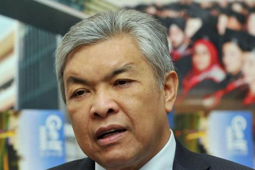"""Malaysian Deputy Prime Minister Ahmad Zahid Hamidi said that the people's choice is paramount over """"former disgruntled leaders"""" who try to undermine the country's leadership."""