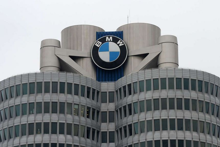 BMW's 'four-cylinder' complex in Munich, Germany.