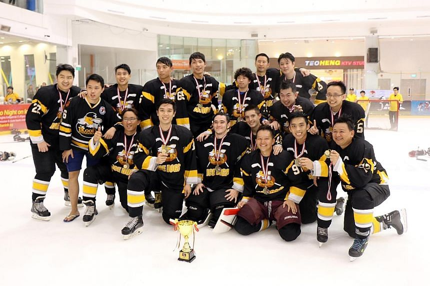 Singapore side Blooies were victorious at the 11th edition of the Lion City Cup ice hockey tournament, a four-day competition which concluded yesterday at The Rink at JCube. They beat fellow local team Ice Crusaders 2-0 in the final to win the Asian