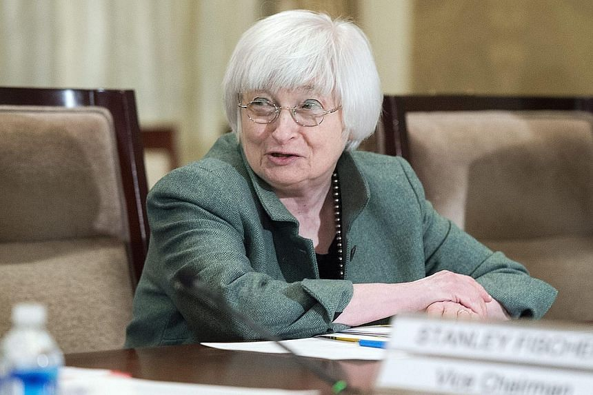 Fed chief Janet Yellen says the credit limit sets a bright line on total exposures between one large bank holding company and another large bank or major counterparty.