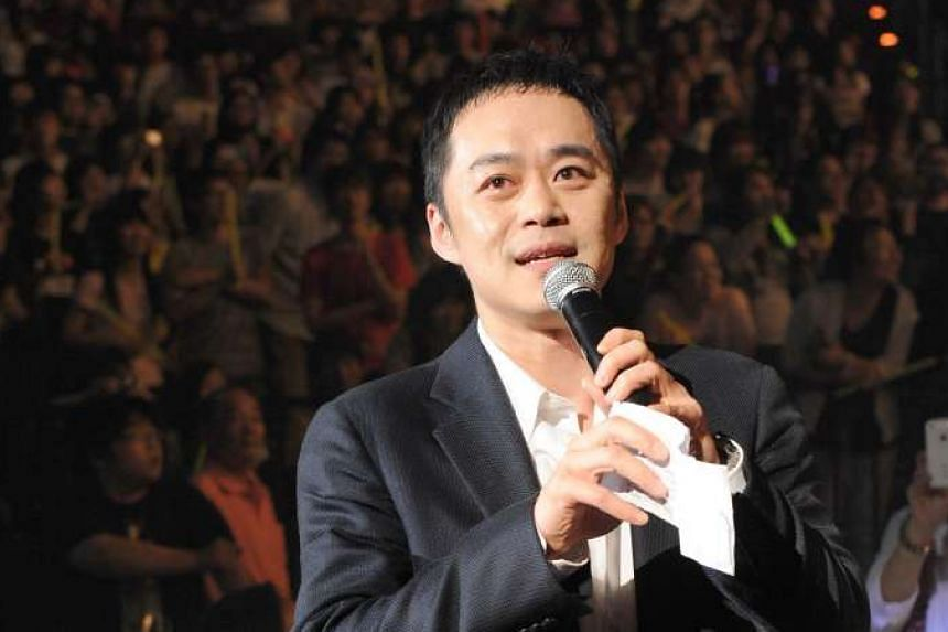 Lawyer Richard Chang (above) and S.H.E. singer Selina Jen announced a shock split on Facebook on March 4, 2016.