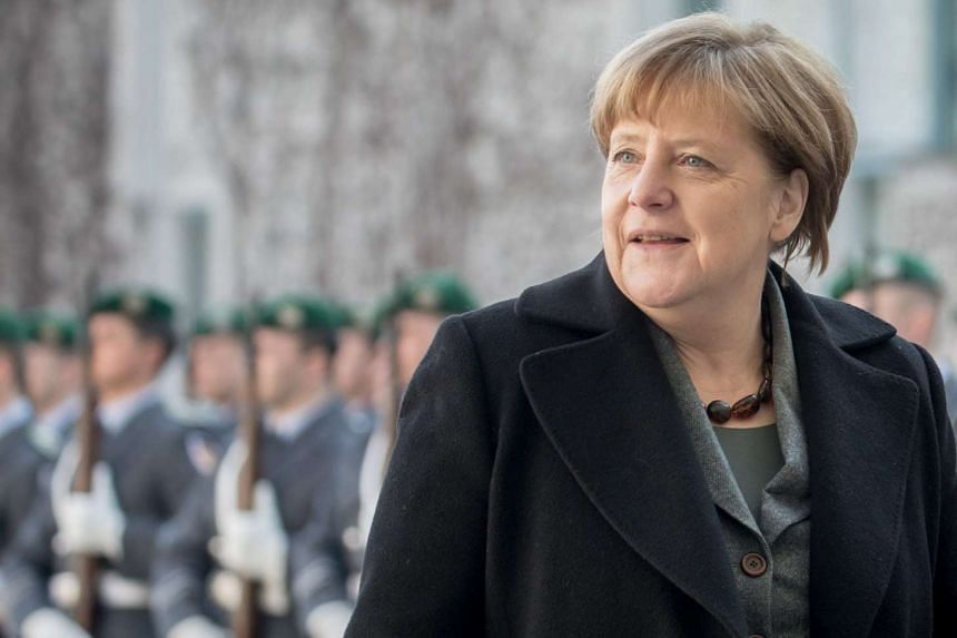 Merkel (above) said those guilty of corruption in sport ruin the efforts of those who act fairly.