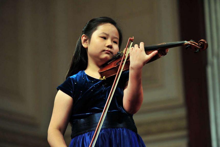 Violinist Susan Tang.