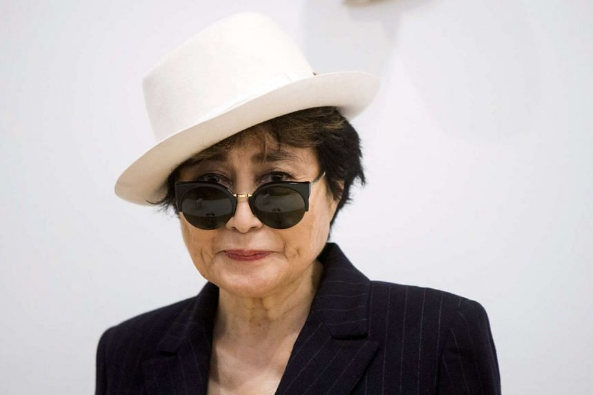 Yoko Ono (above), 83, is recovering a severe bout of flu.