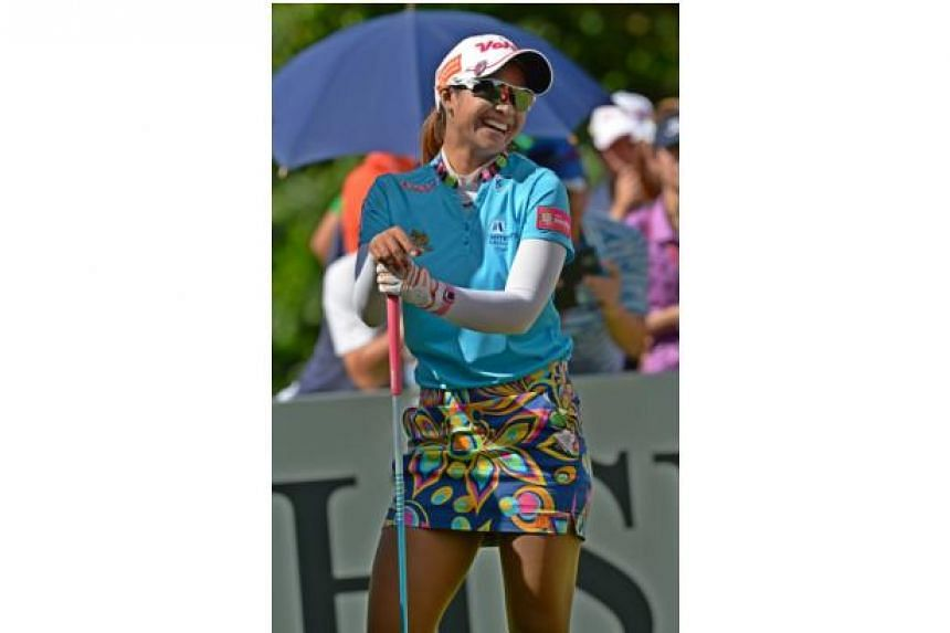 There is fashion and then there is golf fashion. At least it makes them easy to spot.