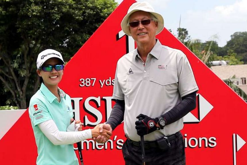 Singapore's Koh Sock Hwee achieved her goal of ending the Republic's unwanted record of finishing last at all eight previous HSBC events. She was tied 59th and earned US$3,987 in her first event as a full-time professional.