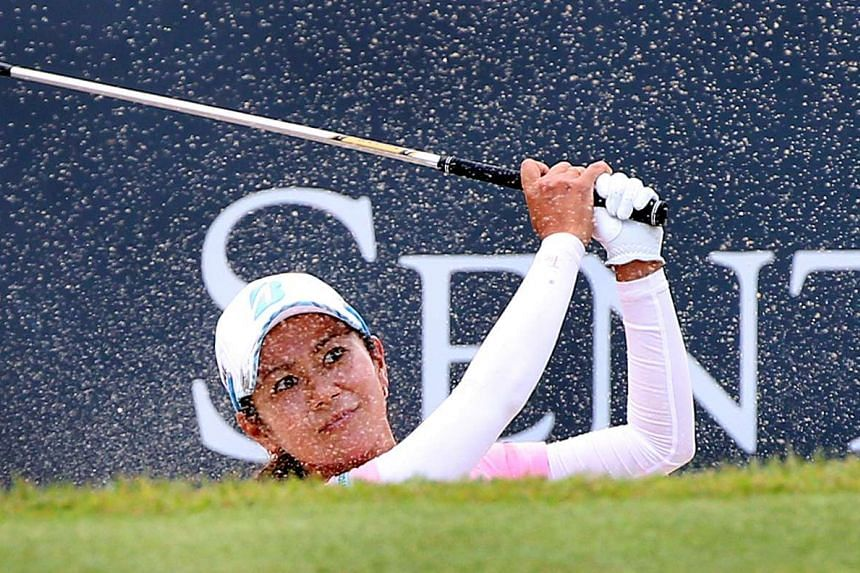 Ai Miyazato was one of five former world No. 1s in the field. Now ranked 152nd, the highlight of Miyazato's week was a hole-in-one on the par-three 8th hole during Friday's second round.